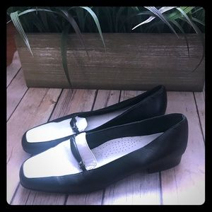 Amalfi For Nordstrom Black & White Loafers